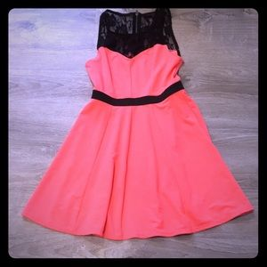 Dresses & Skirts - Beautiful coral color dress, no longer needed.